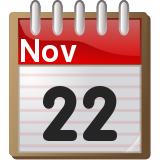 november 22